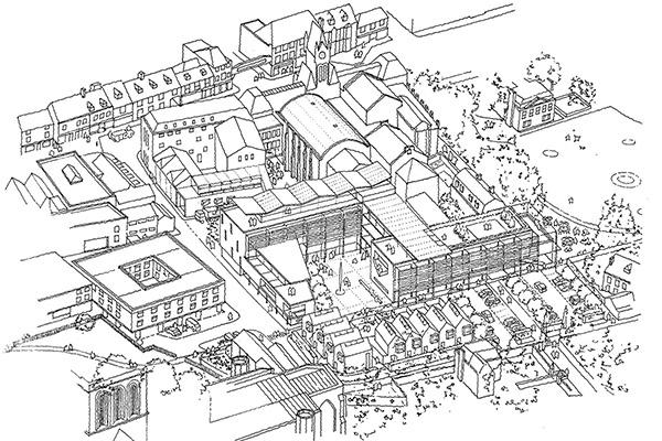 Guildhall Masterplan \ Winchester