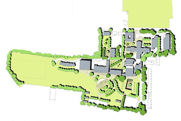 Peter Symonds Masterplan \ Winchester