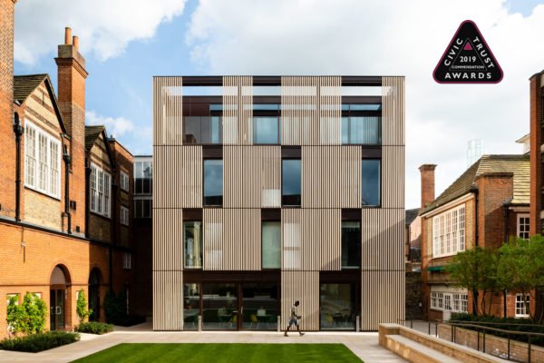 Hubert Perrodo Building wins Civic Trust Awards Commendation