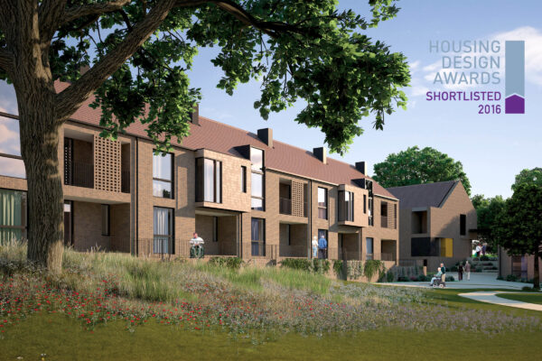 Cedar Park shortlisted for a 2016 Housing Design Award