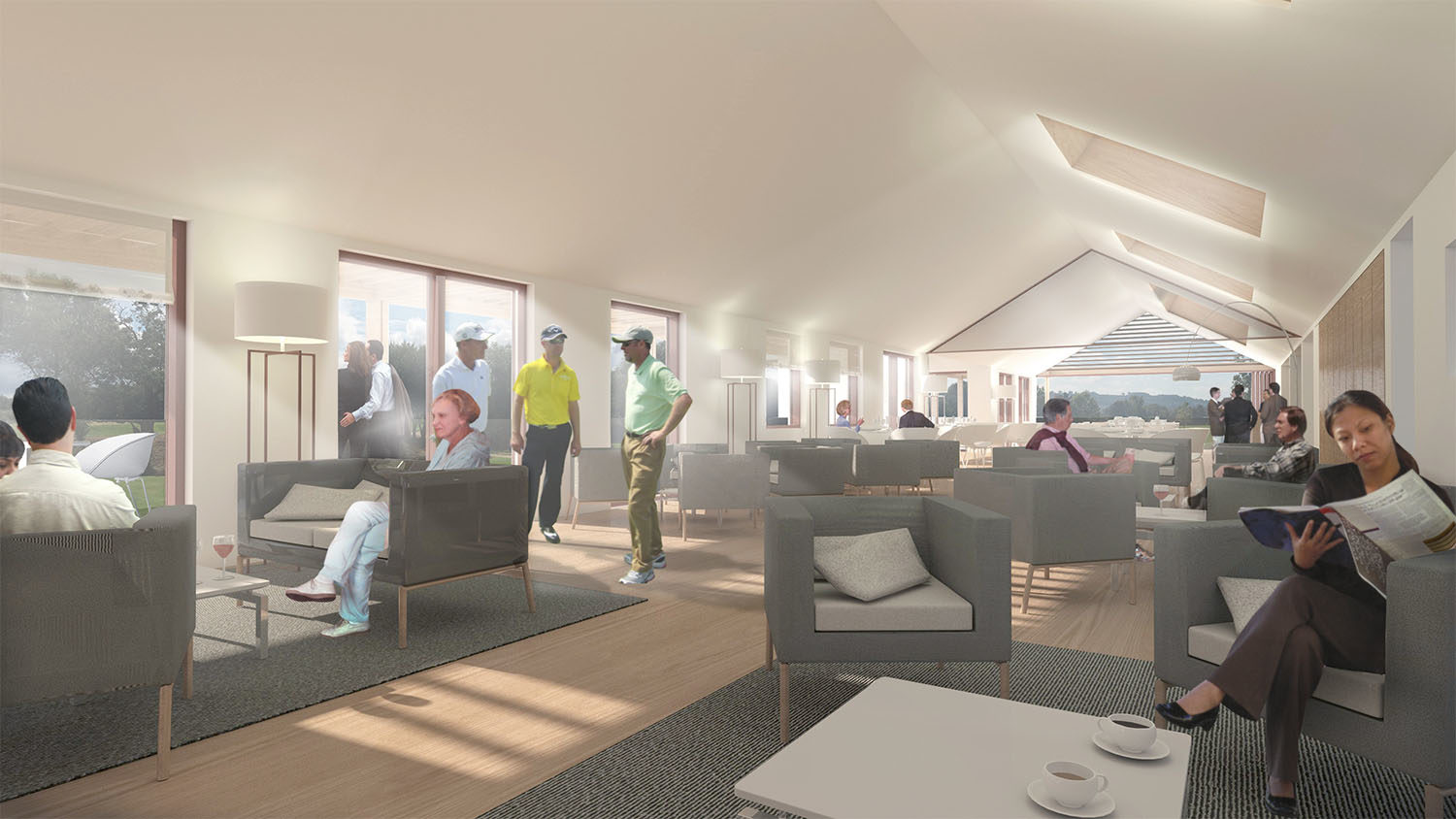 DesignEngine Feldon Valley Clubhouse Interior