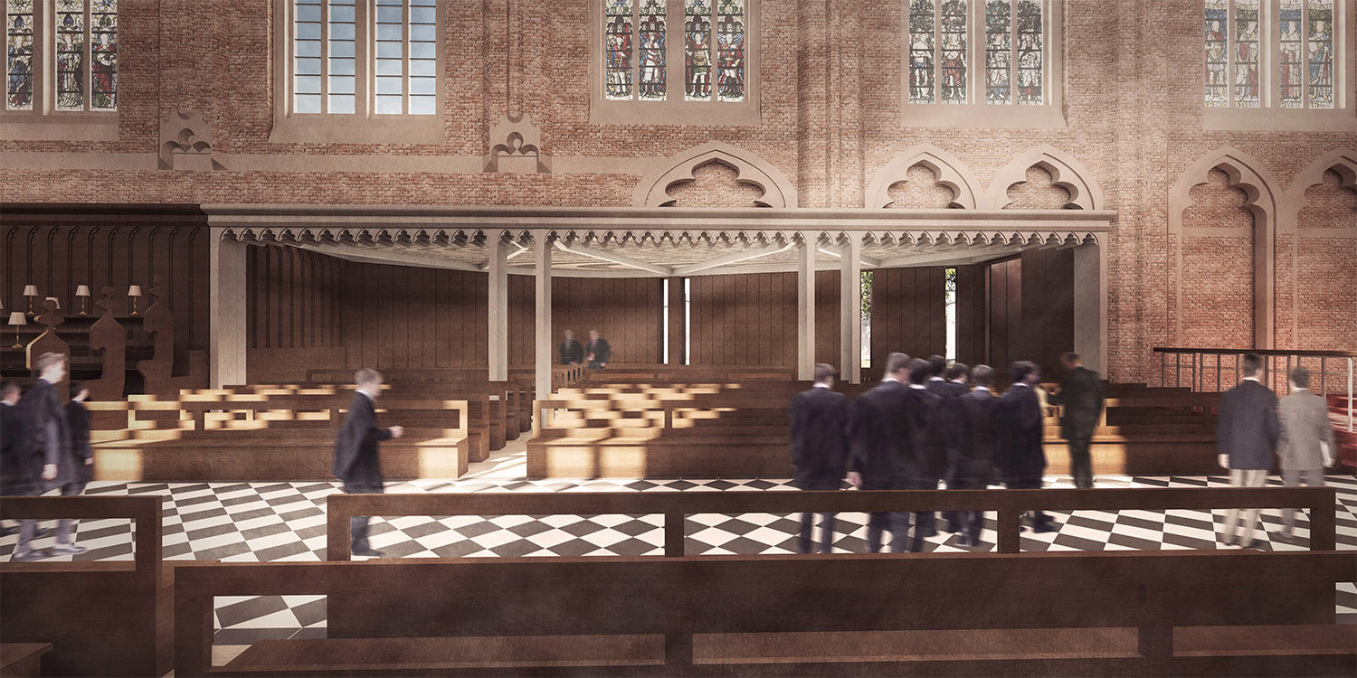DesignEngine Radley Chapel Visualisation