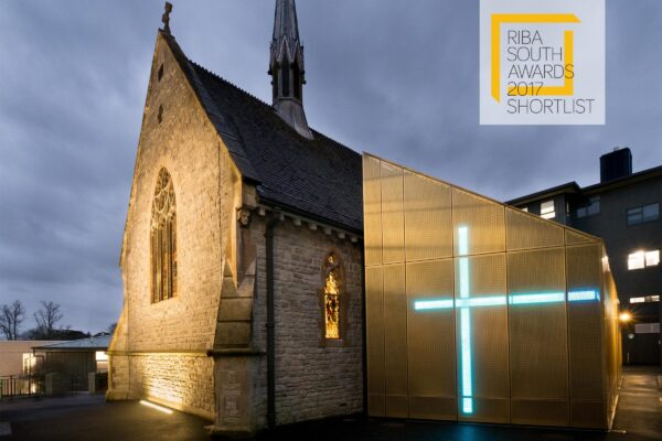 University of Winchester's Winton Chapel shortlisted for RIBA Award