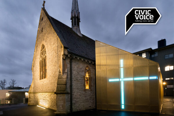 University of Winchester's Winton Chapel and Side chapel Exterior Civic Voice Shortlisted