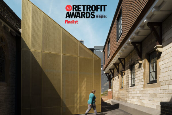 "University of Winchester Chapel in the running for an award in this year's ""retrofit Oscars"""