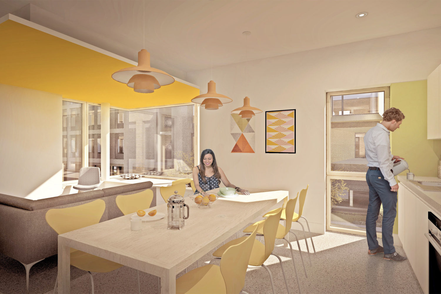 Design Engine AUB Student Accommodation Visualisation