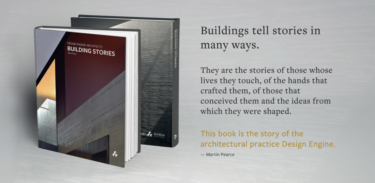 Building Stories Book mock-up with caption