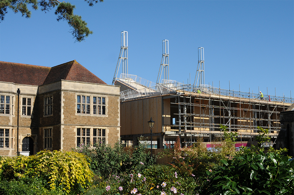 Charterhouse Science Building works Sept17
