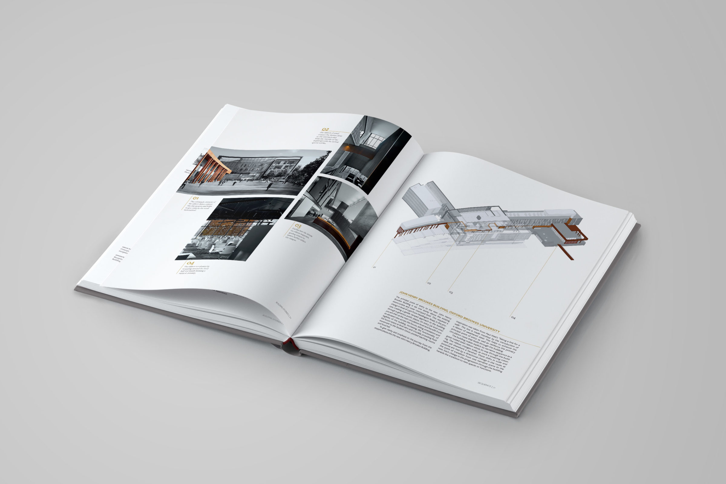 hard cover open book mockup design engine architects