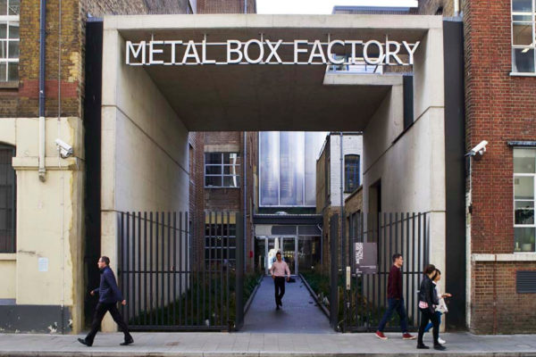 Metal Box Factory Entrance London