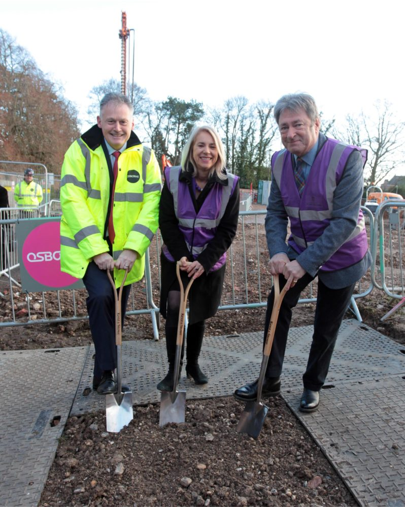 West Downs Groundbreaking Ceremony - Alan Titchmarsh