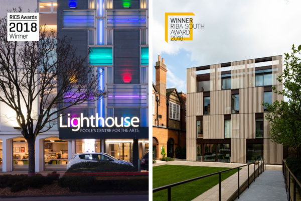 More awards success for Hubert Perrodo Building and Lighthouse, Poole