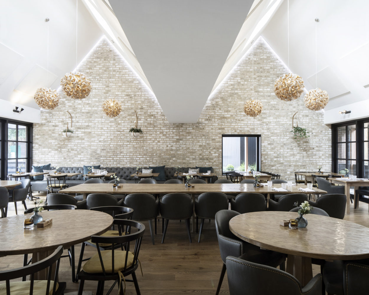 The Fox Double Height Dining Space